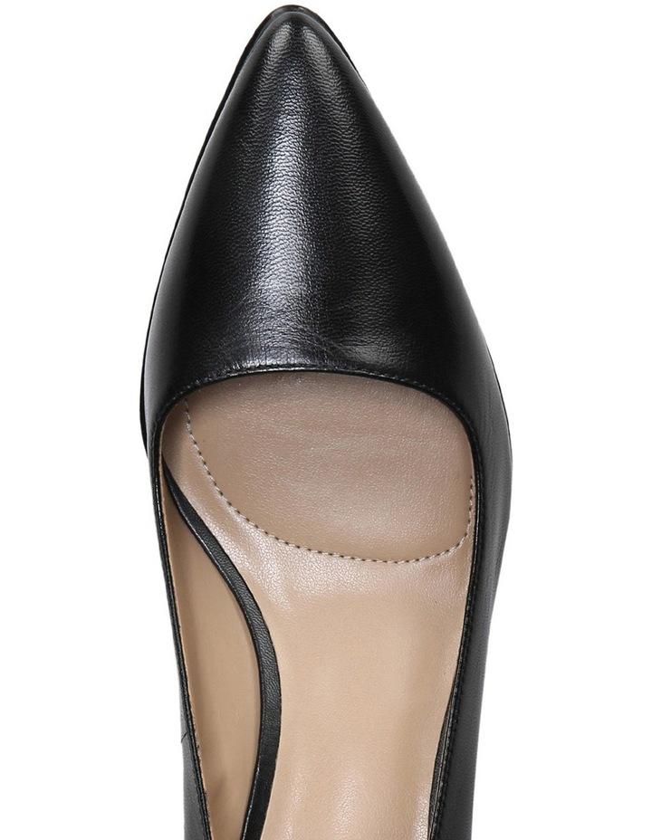 Pippa Black Leather Pump image 4