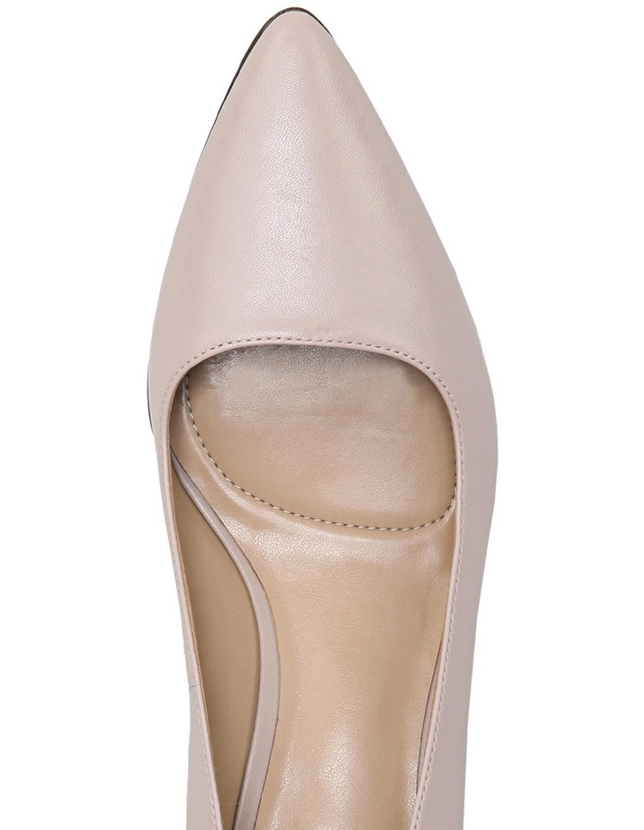 Pippa Soft Marble Leather Pump image 4
