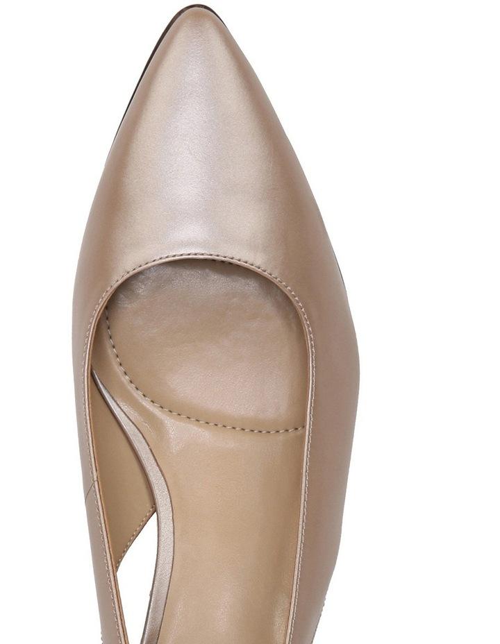 Peyton Latte Heeled Shoes image 4