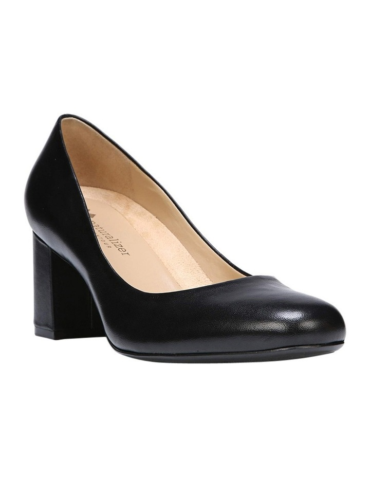 Whitney Black Heeled Shoes image 4