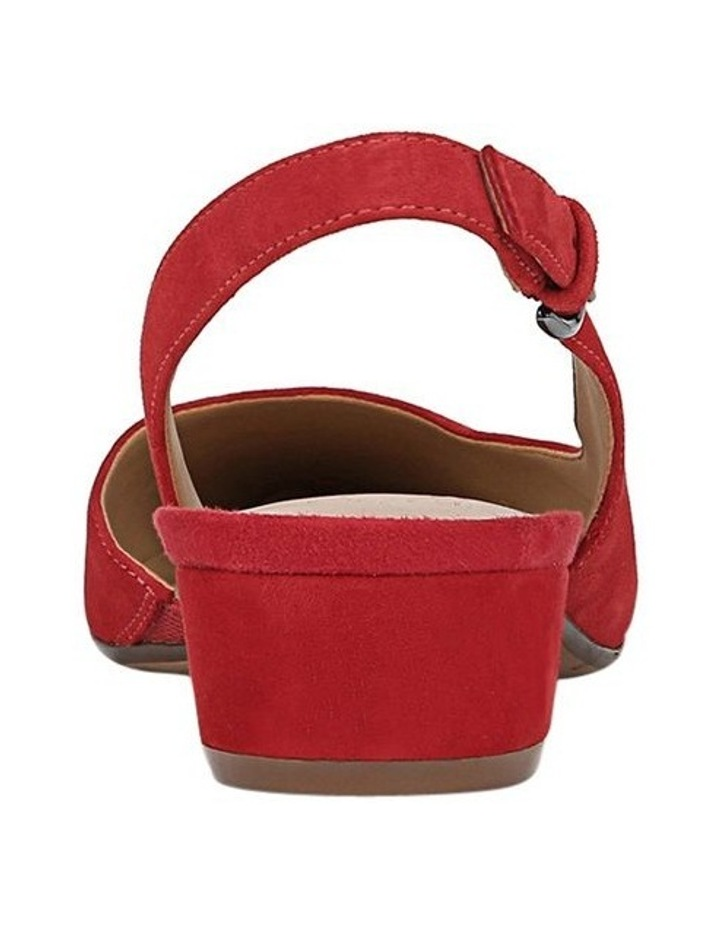 Banks Red Heeled Shoes image 5