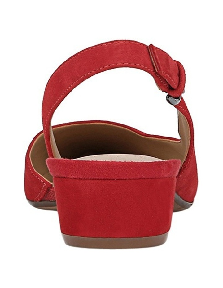Banks Red Heeled Shoes image 3