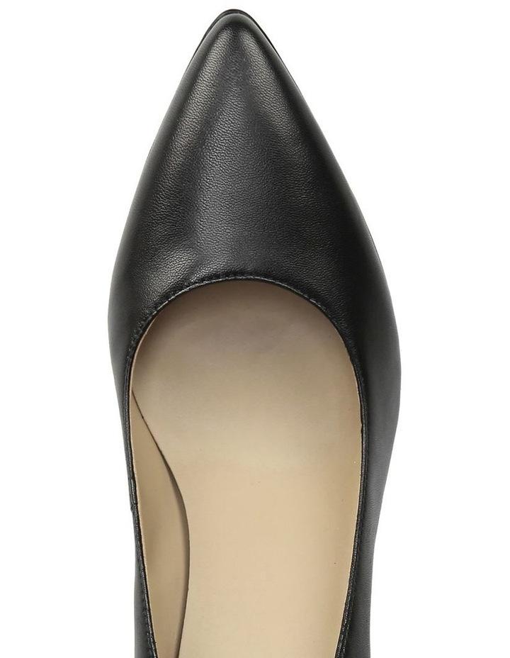 Madeline Black Heeled Shoe image 4
