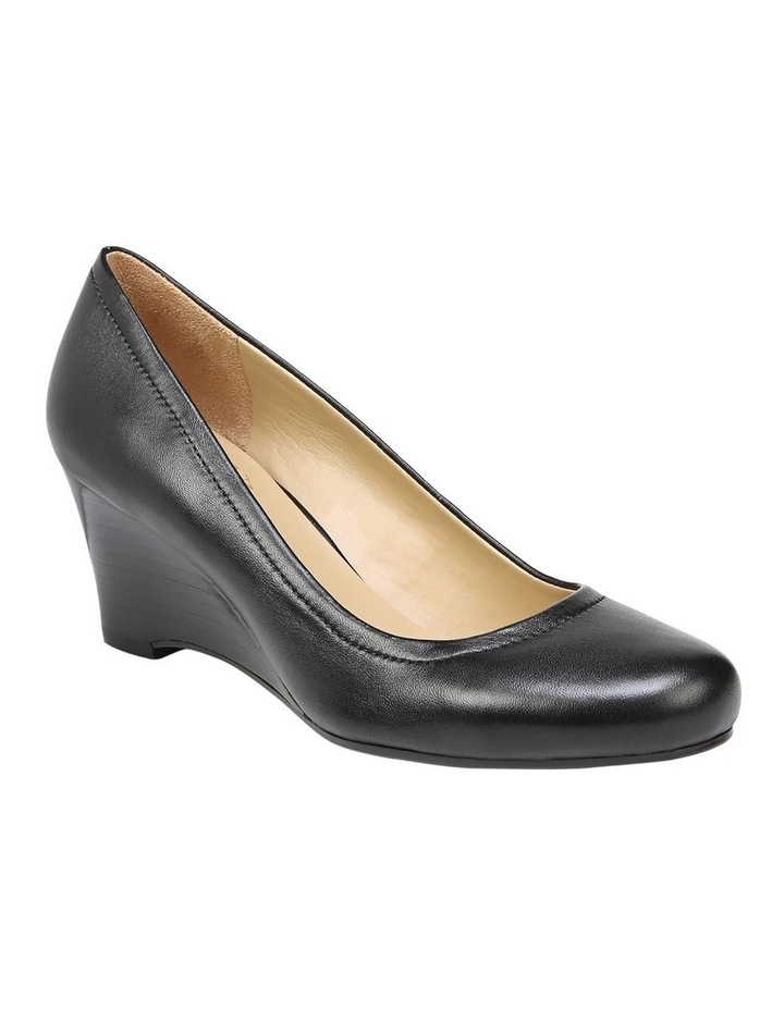 Hydie Black Heeled Shoes image 2
