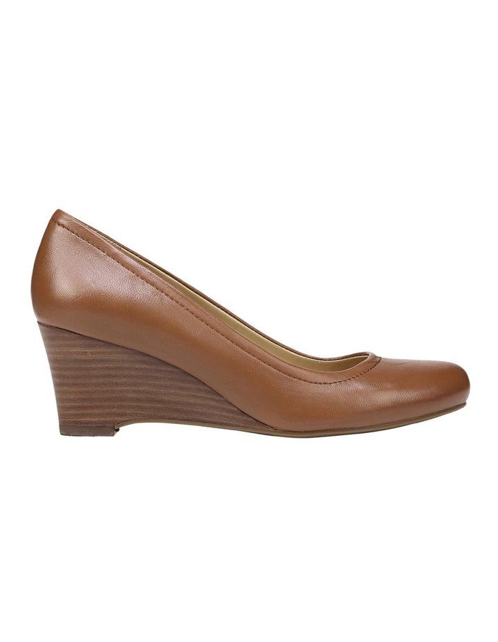 Hydie Saddle Tan Heeled Shoes image 1