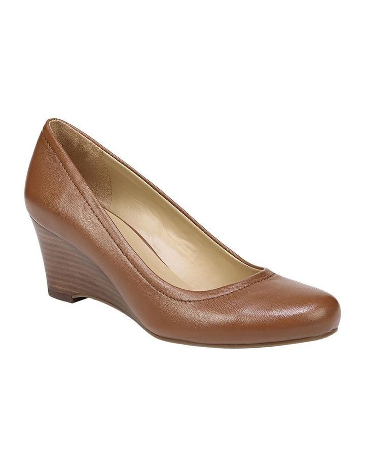 Hydie Saddle Tan Heeled Shoes image 2