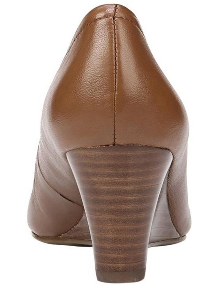 Hydie Saddle Tan Heeled Shoes image 3