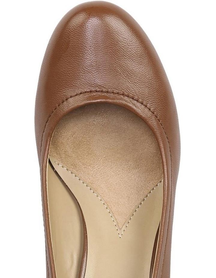 Hydie Saddle Tan Heeled Shoes image 4