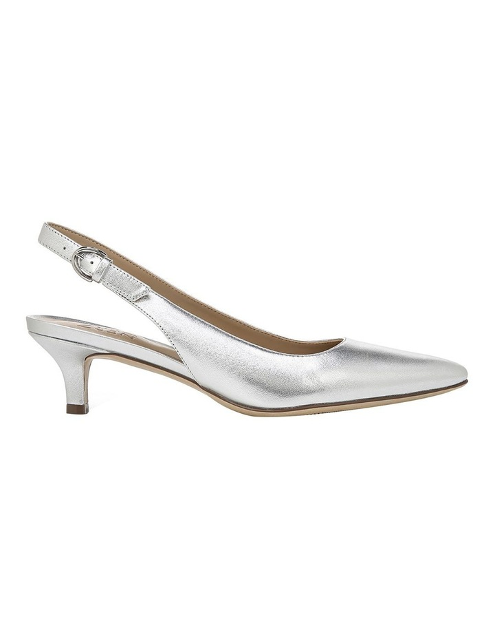Peyton Silver Heeled Shoes image 1