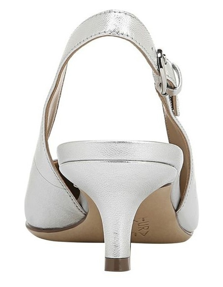 Peyton Silver Heeled Shoes image 3