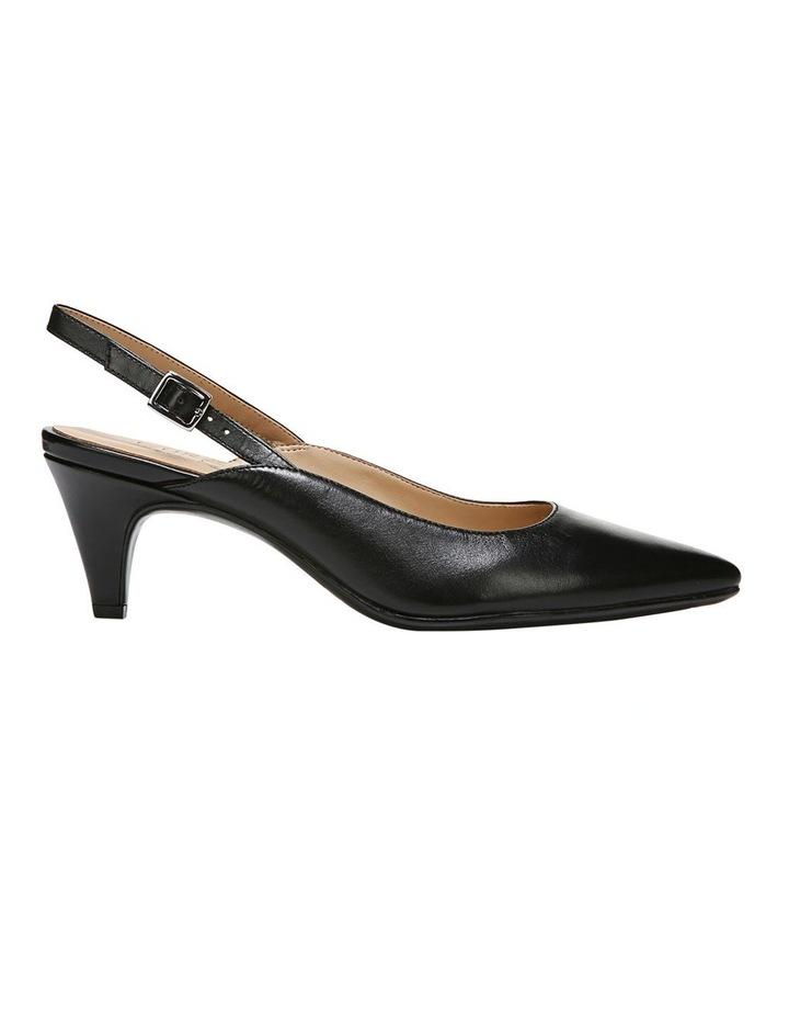 Baylee Black Heeled Shoe image 1