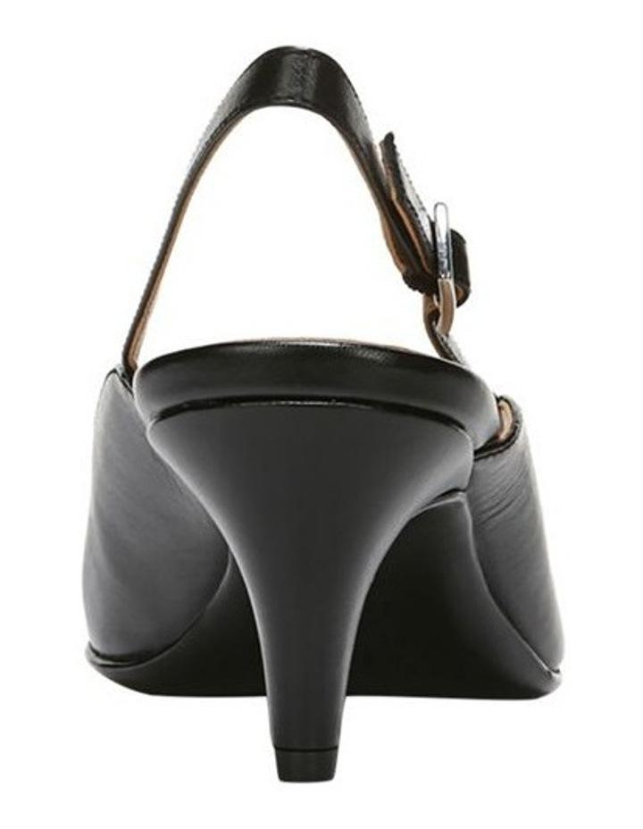 Baylee Black Heeled Shoe image 3