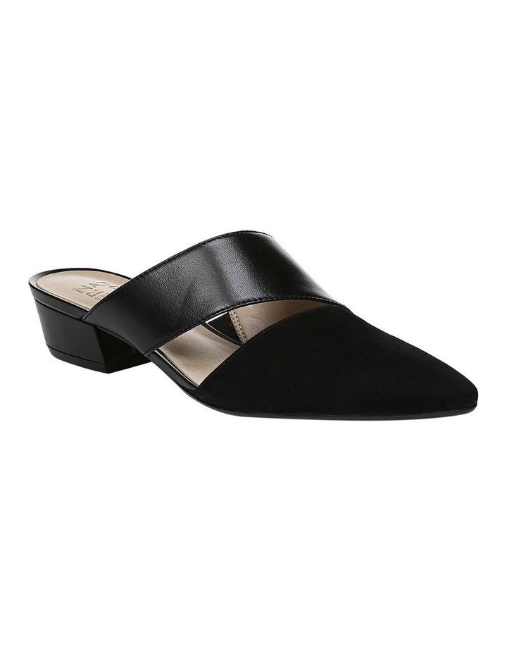 Bev Black Heeled Shoe image 2