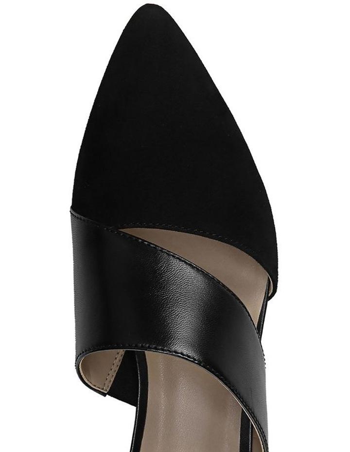 Bev Black Heeled Shoe image 4
