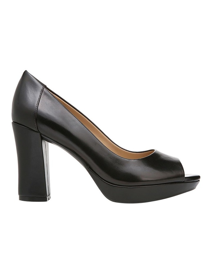 Amie Black Heeled Shoe image 1