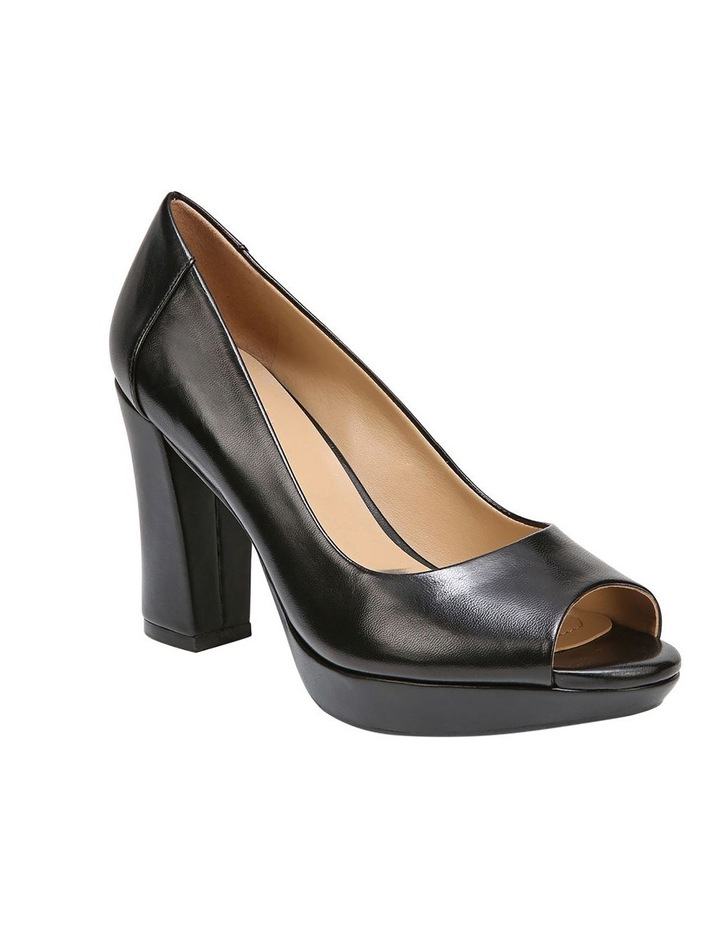 Amie Black Heeled Shoe image 2