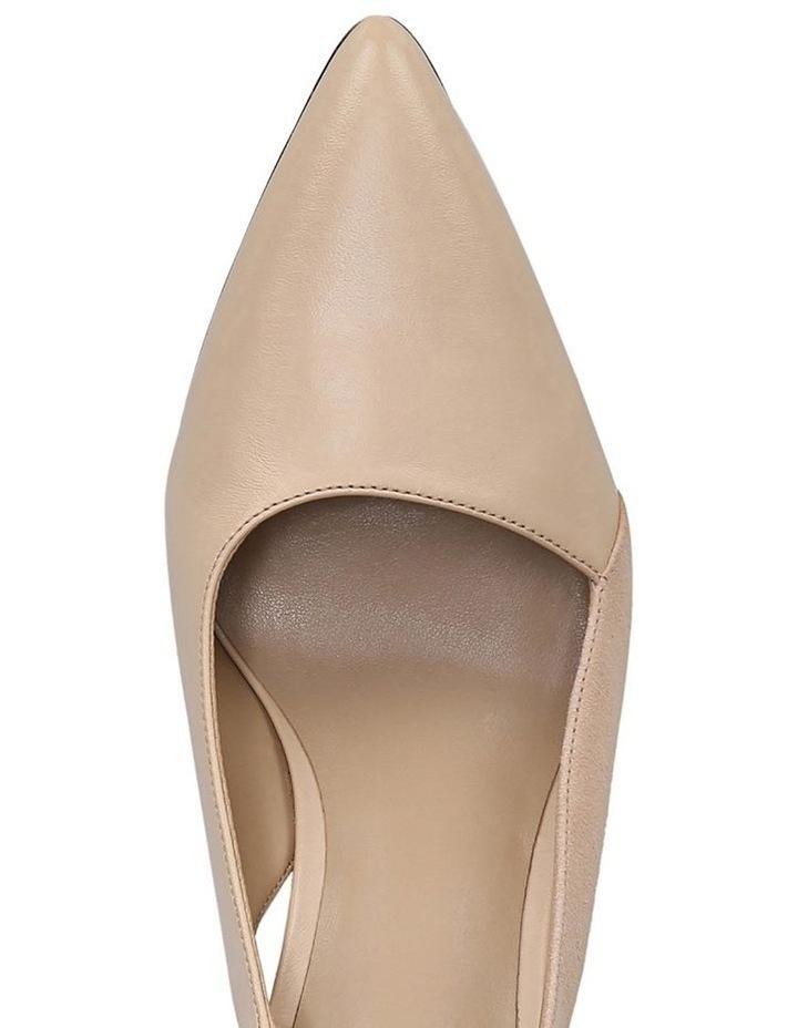 Hannie Soft Nude Heeled Shoe image 4