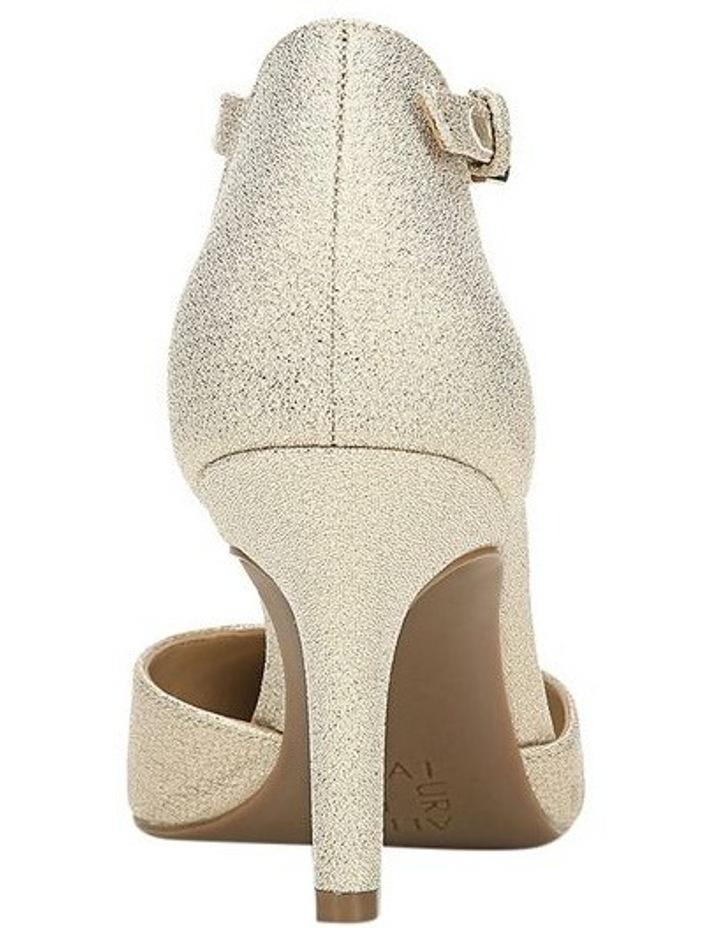 Emilie Gold Glitter Heeled Shoes image 3