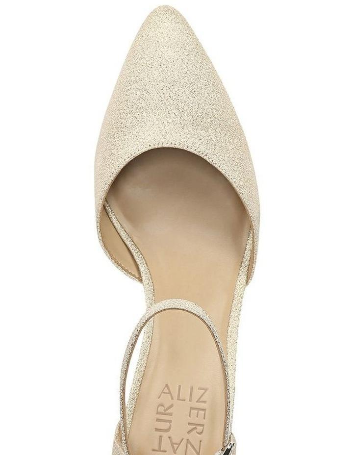 Emilie Gold Glitter Heeled Shoes image 4