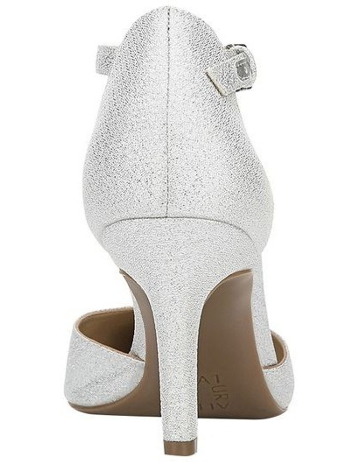 Emilie Silver Glitter Heeled Shoes image 3