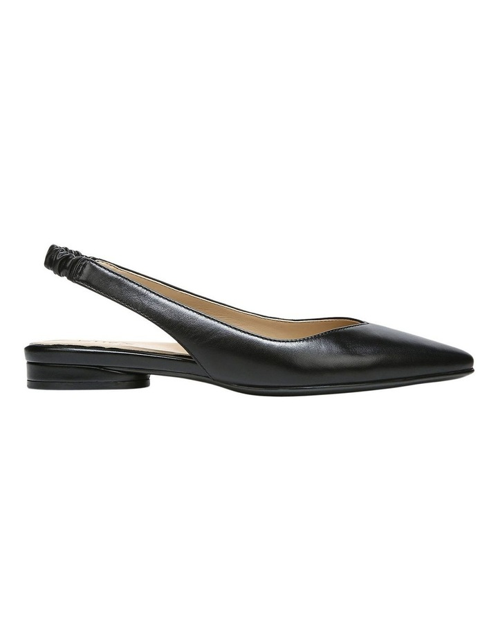 Halo Black Low Heeled Shoe image 1