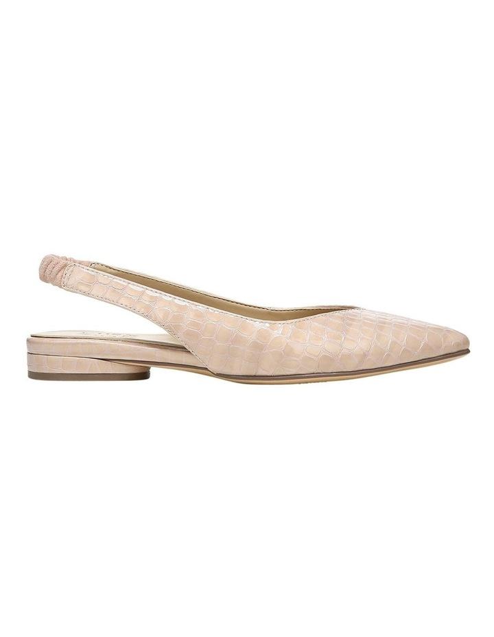 Halo Almond Croc Low Heeled Shoe image 1