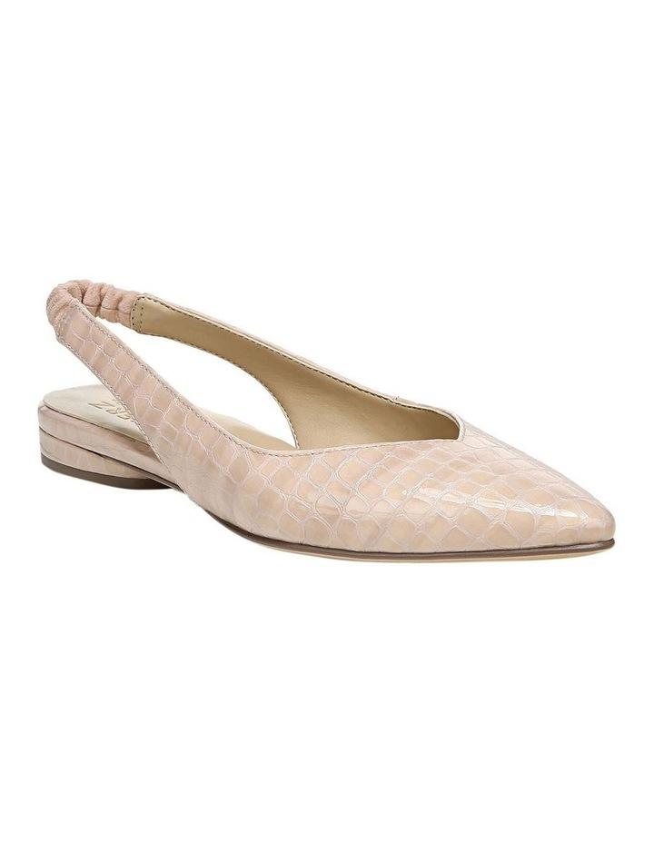 Halo Almond Croc Low Heeled Shoe image 2