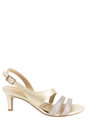 Naturalizer - Taimi Gold Pearlize/Glitter Sandal
