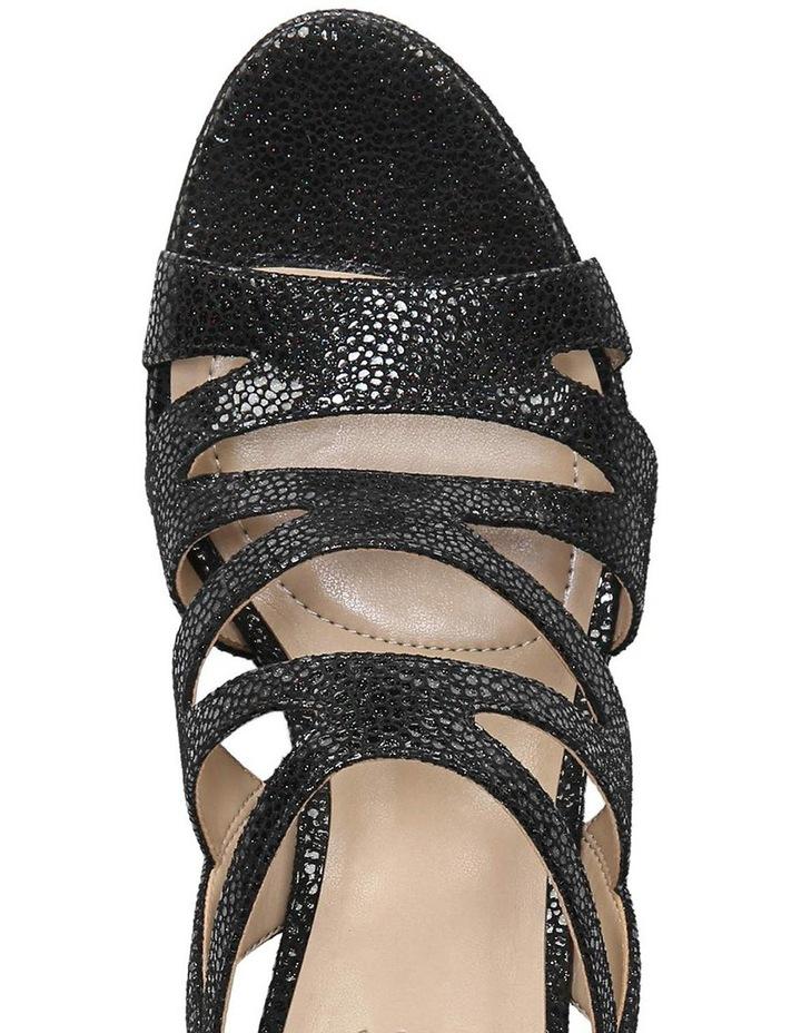 Pressley Black Pebble Sandal image 4