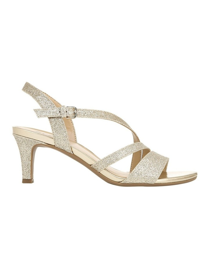 Naturalizer Hanah Gold Glitter Sandal