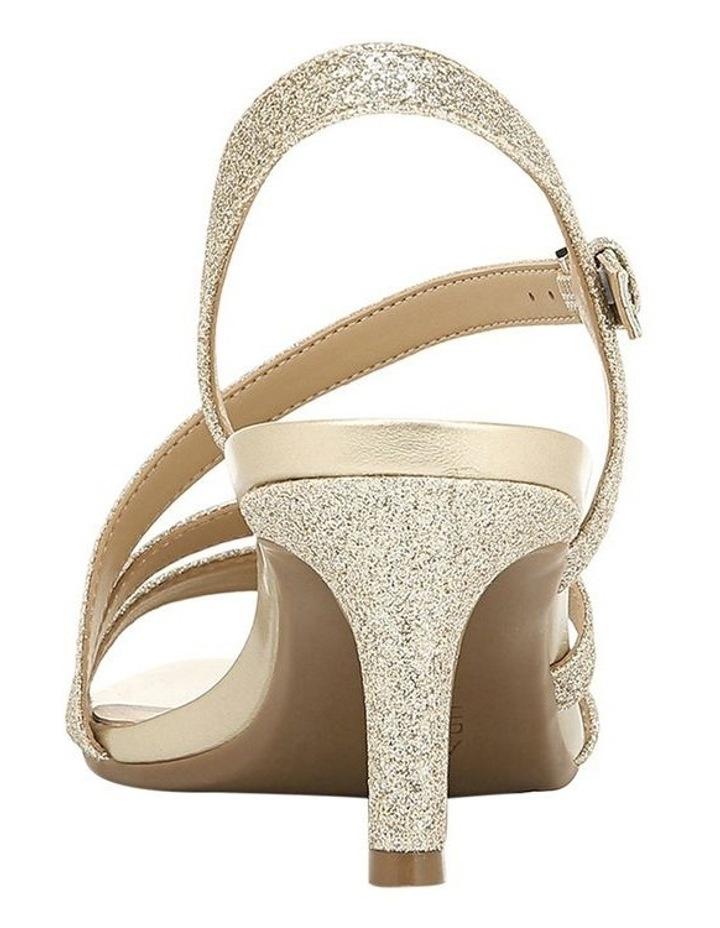 Hanah Gold Glitter Sandal image 3