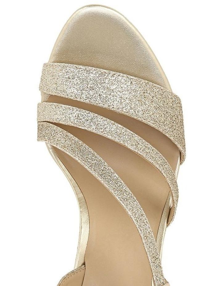 Hanah Gold Glitter Sandal image 4