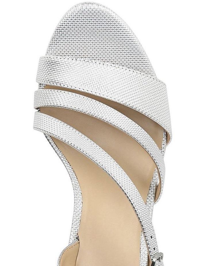 Hanah Silver Glitter Sandal image 4