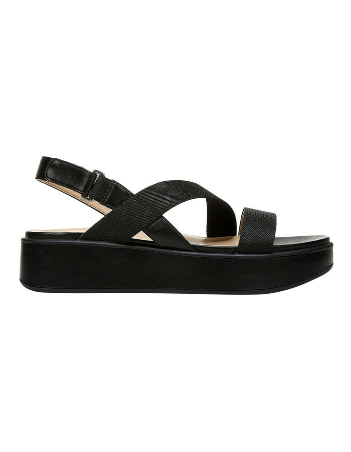 Charlize 2 Black Wedge Sandal image 1