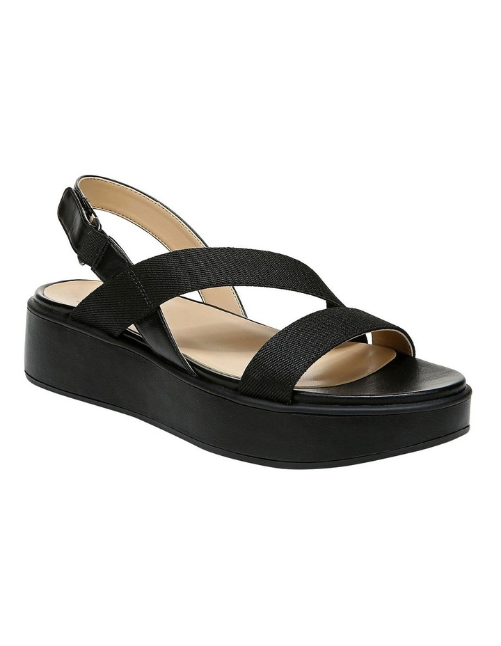 Charlize 2 Black Wedge Sandal image 2