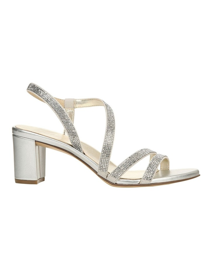 Vanessa 2 Silver Heeled Sandal image 1