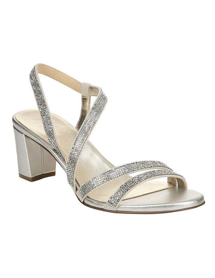 Vanessa 2 Silver Heeled Sandal image 2