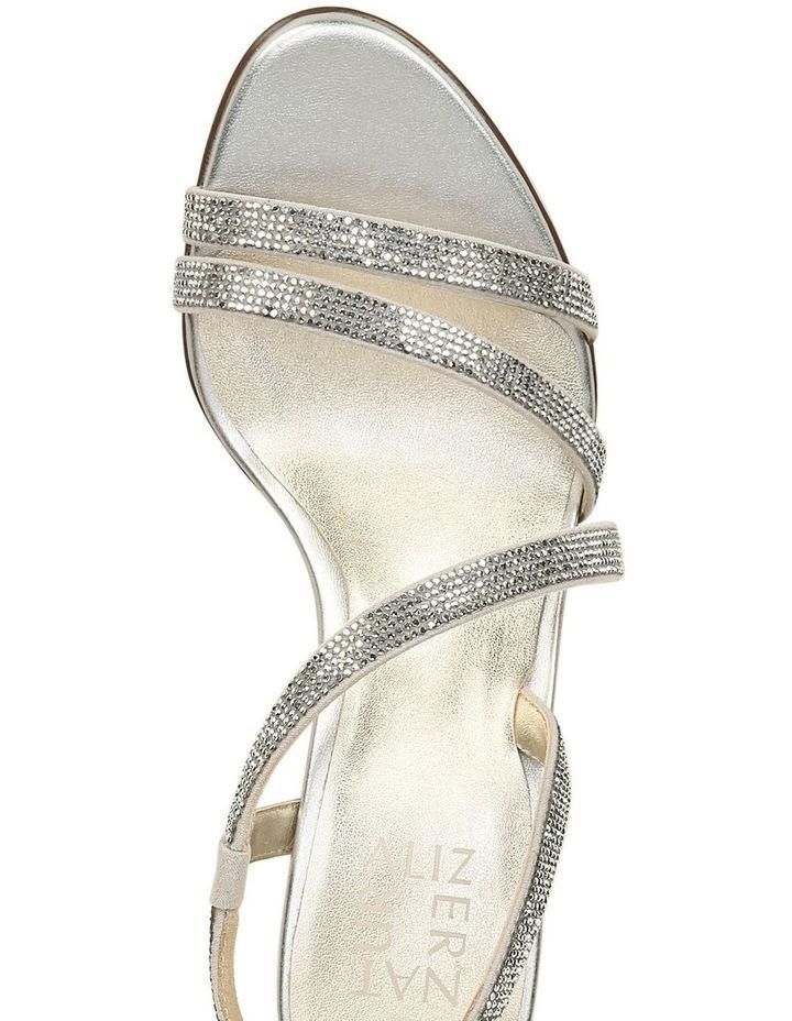 Vanessa 2 Silver Heeled Sandal image 4