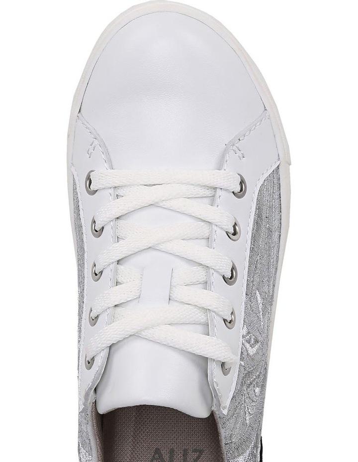 Morrison 4 White/Silver Sneaker image 4