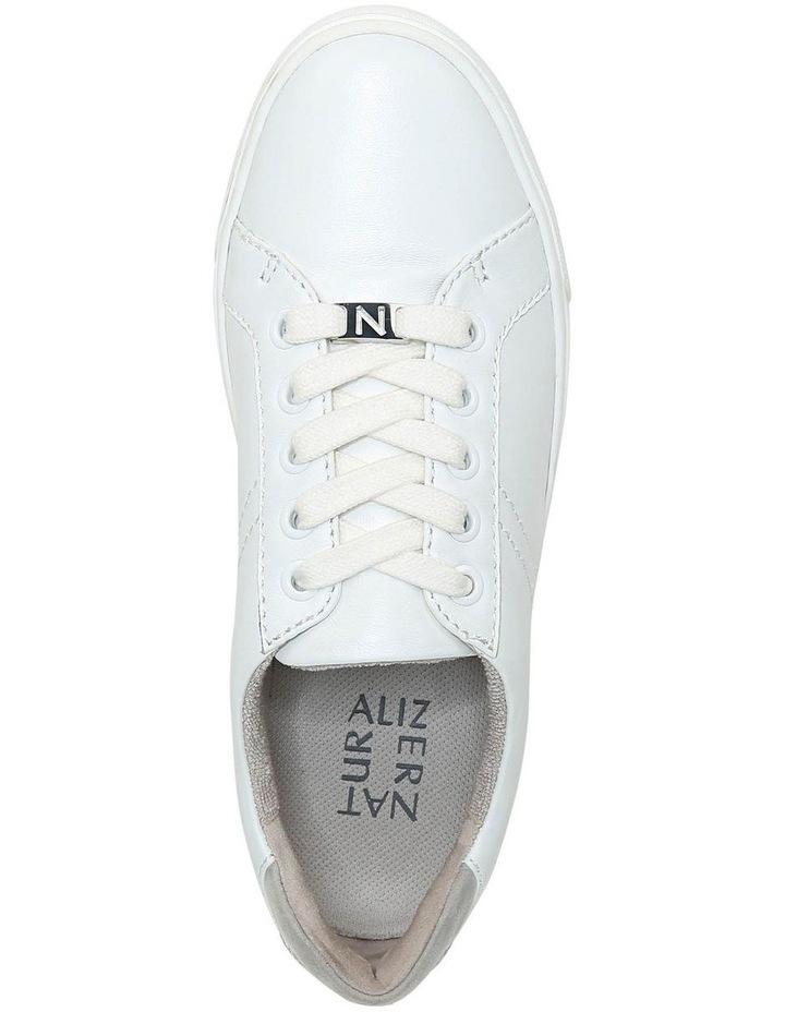 Astara White/Grey Sneaker image 4
