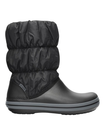 af3adff780df CrocsCrocs Winter Puff 14614 Black Charcoal Boot. Crocs Crocs Winter Puff  14614 Black Charcoal Boot