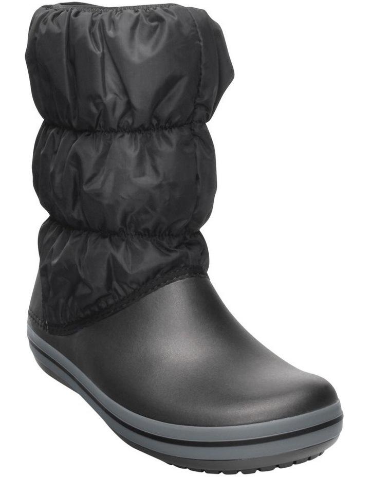 Crocs Winter Puff 14614 Black/Charcoal Boot image 2