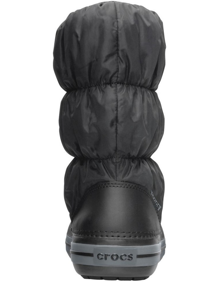 Crocs Winter Puff 14614 Black/Charcoal Boot image 3