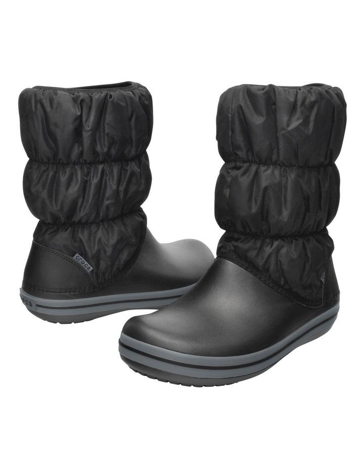 Crocs Winter Puff 14614 Black/Charcoal Boot image 5