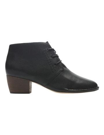 bf1076ae679a61 ClarksClarks Spiced Charm Black Leather Boot. Clarks Clarks Spiced Charm  Black Leather Boot