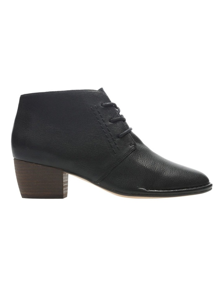 Clarks Spiced Charm Black Leather Boot image 1