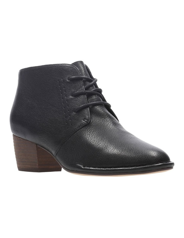 Clarks Spiced Charm Black Leather Boot image 2