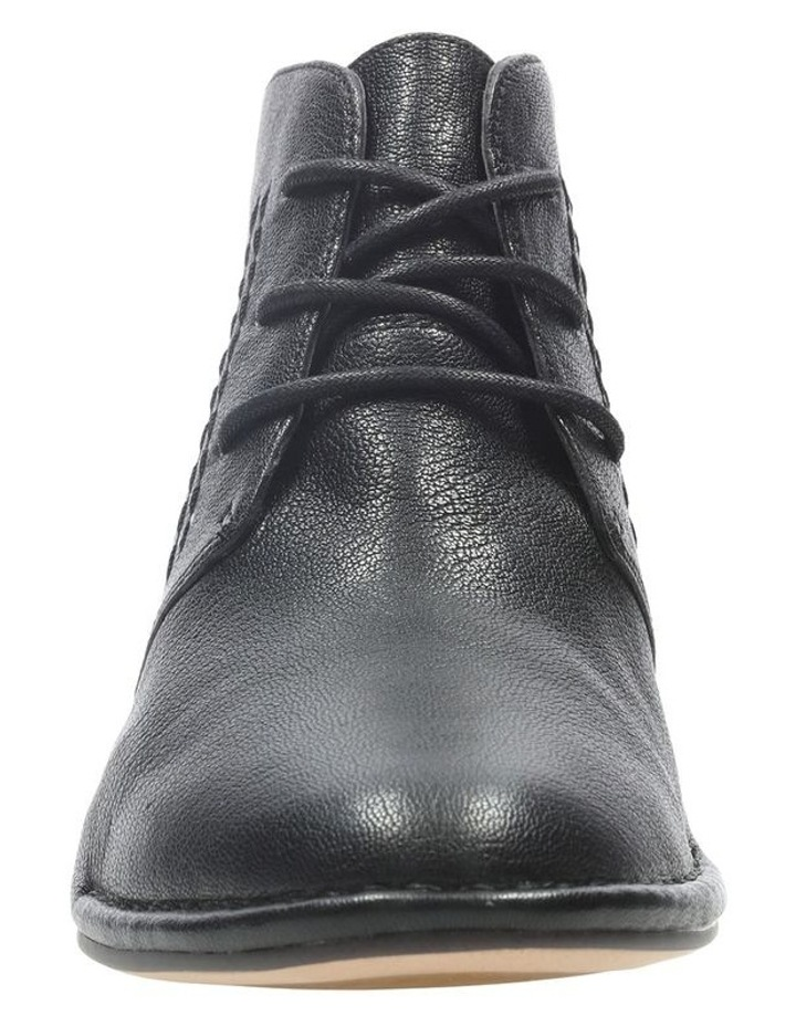 Clarks Spiced Charm Black Leather Boot image 3