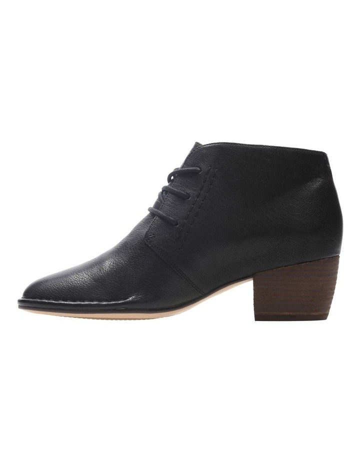 Clarks Spiced Charm Black Leather Boot image 4