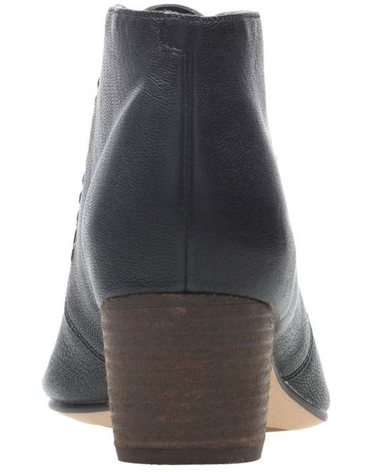 Clarks Spiced Charm Black Leather Boot image 5